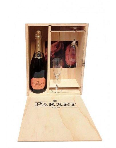Wonderbaarlijk Parxet Champagne pakket 1 fles + 2 glazen - Slijterij de Graaf RD-39